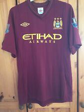 "Manchester City football shirt Jersey Maglia Trikot For Men Size 40"" umbro 2012"