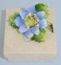 Vtg. signed Cara China Staffordshire Dahlia Flower Brooch / Pin ~ New Old Stock