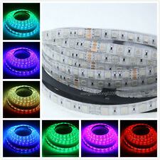 24V 10M/Roll 5050 High Power RGB LED Rope Strip Ribbon Light 600 LED Waterproof