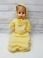 "Vintage 17"" Horsman Plastic Jointed Baby Doll 3437 15 Eye Sleepy Eyes"
