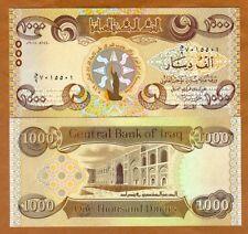 Iraq, 1000 Dinars, 2018, P-New, UNC > upgraded