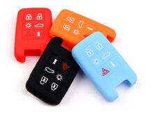 Car Silicone Smart Remote Key Cover Case fit for VOLVO V40 S80 XC60 V60