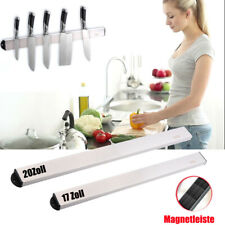 NEU Magnetleiste Edelstahl Messerleiste Küchenleiste 40cm 50cm Messerhalter DE