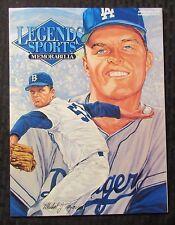 1995 March/April Legends Sports Memoribilia Magazine NM 9.4 Don Drysdale Dodgers