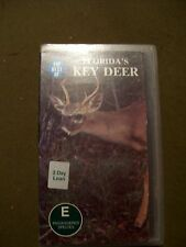 The Best of Florida's Key Deer (VHS, 1999) HTF, OOP