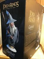RARE-SIDESHOW Gandalf the Grey #293/450 LEGENDARY 1:3 SCALE BUST Exclusive LOTR