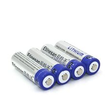 4pcs Etinesan SUPER Lithium ion 1.5V Powerful AA Batteries powerful battery