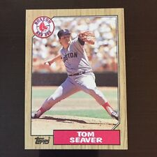 1987 Topps TOM SEAVER #425 Boston Red Sox