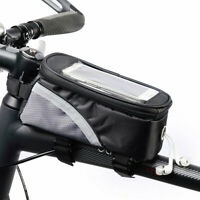 Waterproof Bicycle Moilbe Phone Frame Bag Moutain Road Bike Touched Screen Bag!