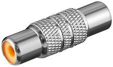 Goobay Audio-Adapter Cinch-Buchse > Cinch-Buchse Metall Steckverbindung