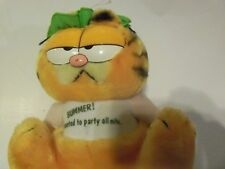 Garfield Plush Bummer! I Wanted To Party All Nite1981