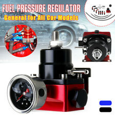 Adjustable Fuel Pressure Regulator Fits for Most Vehicle Oil 0-100psi Gauge -6AN