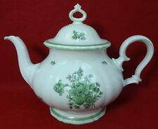 ROSENTHAL china GREEN BLOOM pattern Teapot & Lid