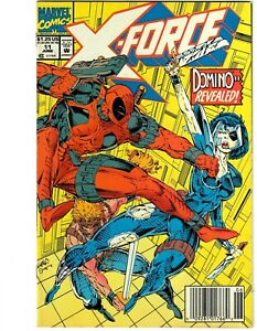 X-Force #11 1st Real Domino Newsstand Marvel Comics Combine Shipping 1992