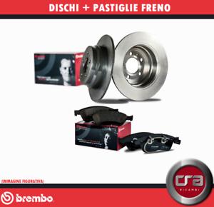KIT DISCHI + PASTIGLIE FRENO BREMBO AUDI A3 (8P1) 2.0 TDI 103KW 140CV POSTERIORI