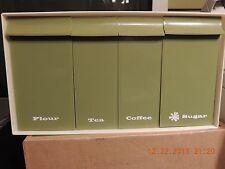 Dispenser for coffee,Tea,Flower, Sugar. 1970's design New Condition