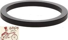 "WHEELS MANUFACTURING 2.5MM 1"" BLACK SPACERS BICYCLE HEADSET PART--BAG OF 10"