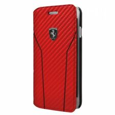 Original Ferrari Funda para Móvil / Smartphone Booktype Carbon Óptica Iphone 7