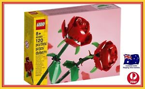 LEGO Roses Flowers Bouquet. 40460. Brand New and Sealed.