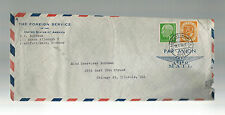 1953 US Foreign Service West Germany Diplomatic Cover to USA # 683
