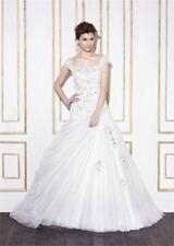 Beading Tulle Sleeveless Ball Gown/Duchess Wedding Dresses