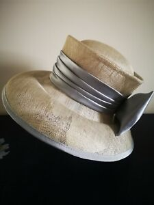 Lovely Silver Grey Hat - Wedding, Races.  Worn Once.