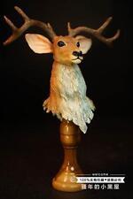 1/6 custom figure head Brown deer head(Gift mask)not black 13 park