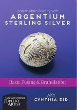 How to Make Jewelry with Argentium Sterling Silver - Basic Fusing and Granulati
