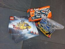 Lego Technic 9396 Rescue Helicopter With Power Functions Kit - 8293