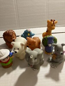 Fisher Price Little People Zoo Keeper With Animals  Toy Figures