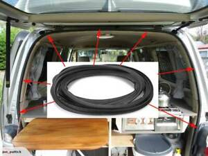 Rear Tailgate Rubber Seal Strip For Toyota Hiace Van Low Roof 2005-2017