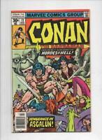 CONAN the BARBARIAN #72 VF/NM, Buscema, Ernie Chan, Howard, 1970 1977, Belit