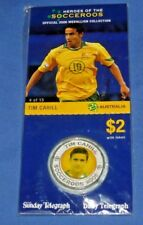 Tim CAHILL 2006 Heroes of the Socceroos Soccer Medallion New in Pack Card Mint