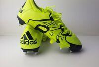Adidas X 15.1 SG Black Solar Yellow Mens Boys Football Boots Size UK 6 Shoes