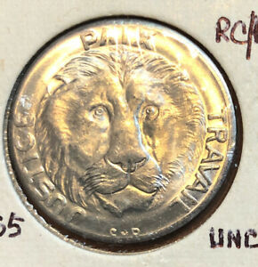 Congo 1965 10 Francs UNCIRCULATED Coin KM#1-Combined S&H