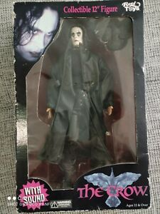 """THE CROW  COLLECTIBLE 12 """" ACTION Figur WITH SOUND OVP"""