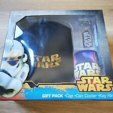 x1 Star Wars Gift Pack, Cap, Can Cooler, Key Ring