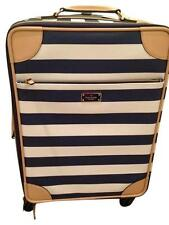 NEW  Kate Spade Bon Voyage Leather Universal Carryon Luggage Travel Bag