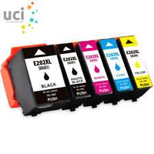 Set of 5 Compatible Ink for Epson XP-6000 XP-6005 -202XL