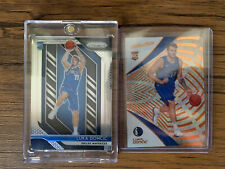 Luka Doncic Prizm And Revolution Rookie cards