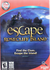 Escape Rosecliff Island (PC, 2009, Pop Cap Games) Free USA Shipping!