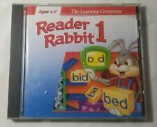 The Learning Company: Reader Rabbit 1(PC/MAC, 1996)