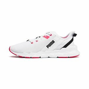 PUMA Womens Weave Xt Athletic Shoes Outdoor Running Trainers White 192611-05