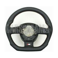 Échange Cuir Volant Volant audi a4 b7 a6 c6 4 F Sline aplatie Sport 117-15