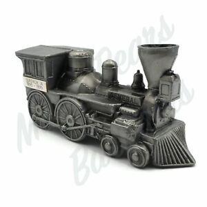 Die Cast Metal Locomotive Train Engine Coin Bank Engraved Superior IA 1895-1995