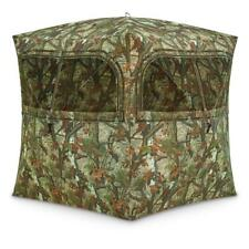 BARRONETT Blinds Grounder 350 Hunting Blind Bloodtrail Woodland Camo GR351BT