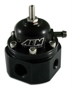 AEM 25-302BK Universal Adjustable Fuel Pressure Regulator FPR