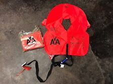 American Airlines Airplane Life Jacket Vest Orange New in bag