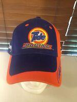 NWOT TIDE RACING 32 Ricky Craven Blue Orange Hat Ball Cap Snap Back