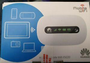 Huawei Mobile Wifi E5220 New in box .